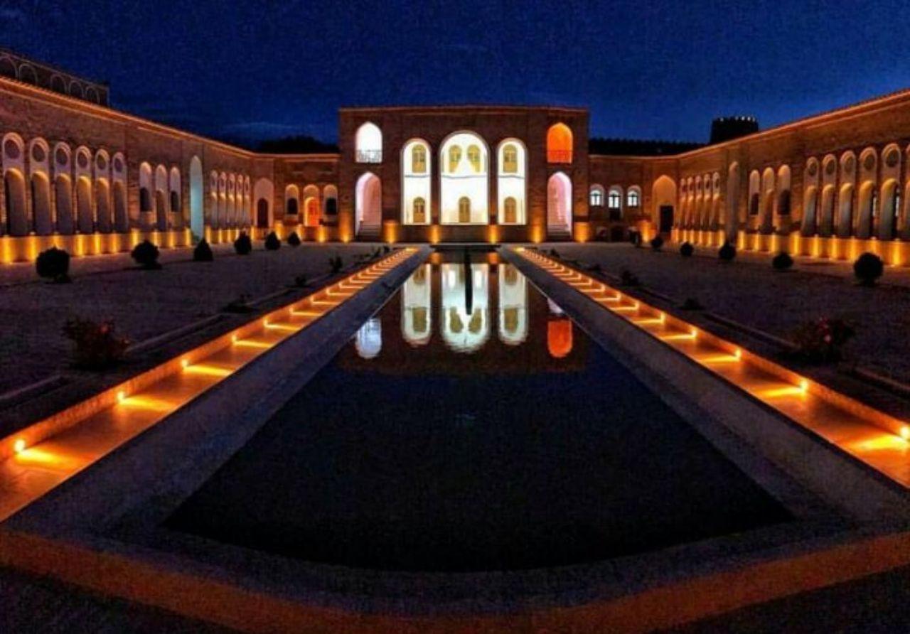 گذری کوتاه بر «خانه حاج آقا علی»/ تصاویری جذاب از بزرگترین خانه خشتی جهان را ببنید