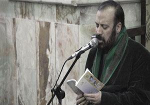 آخرین مناجاتخوانی مرحوم موسوی قهار در حضور رهبر انقلاب + فیلم