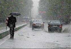 پیش بینی بارش های پراکنده در زنجان