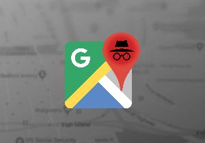اضافه شدن حالت ناشناس به نقشه گوگل iOS