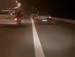 تعقیب و گریز پلیس با قاچاقچیان مواد مخدر در اتوبان قم - تهران + فیلم