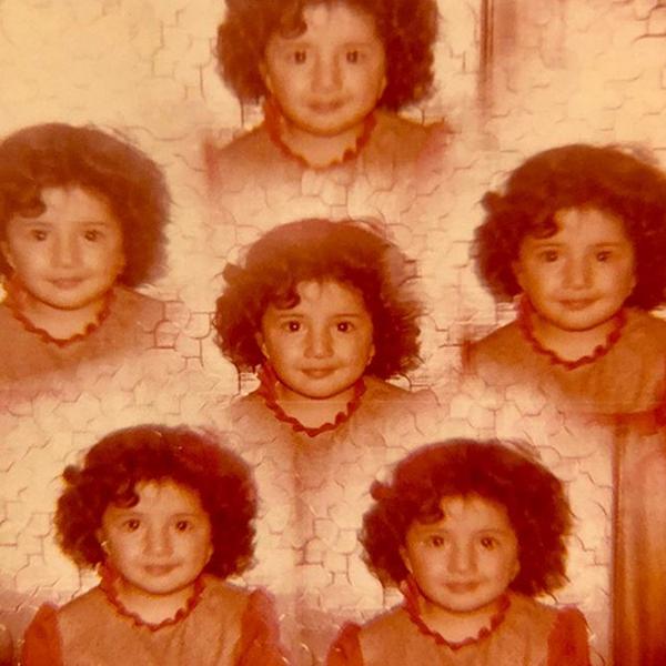 عکس دیده نشده از ۴ سالگی بازیگر نقش مریم مقدس