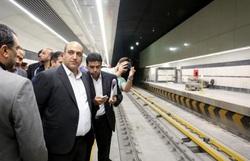 بهره برداری از خط۲ قطار شهری مشهد