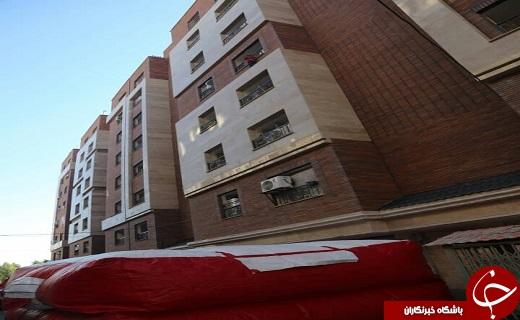 نجات جان کودک  در حال سقوط از طبقه پنجم +عکس