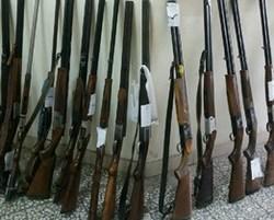کشف ۳۷ قبضه تفنگ شکاری غیر مجاز در گیلان