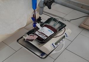 یک بیمار زاهدانی با گروه خونی نادر از مرگ حتمی نجات یافت
