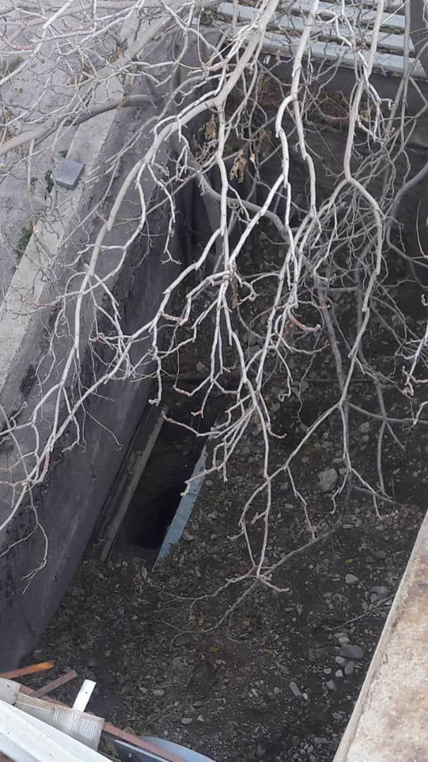 حفار غیر مجاز در حوالی عمارت کوشک شقاقی دستگیر شد