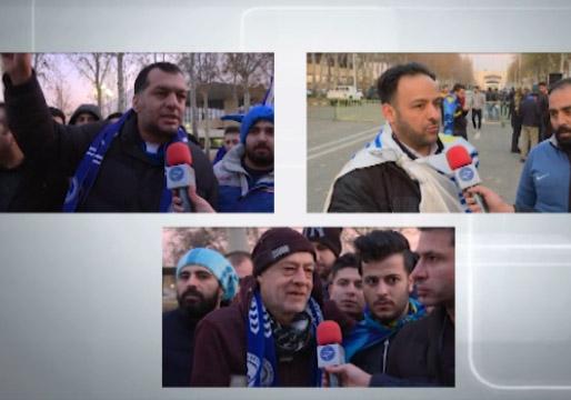 آوار اعتراض هواداران بر سر مسئولان و بازیکنان استقلال + فیلم