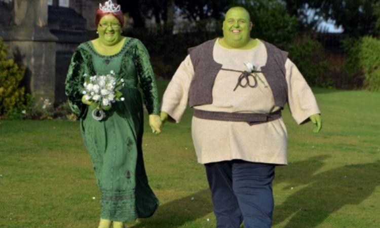 عجیب و غریبترین لباسهای عروس و داماد در دنیا + تصاویر