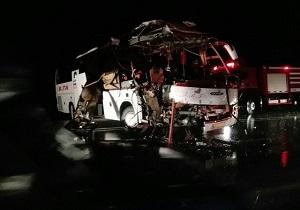 تصادف در جاده بیجار به دیواندره ۲ کشته برجا گذاشت