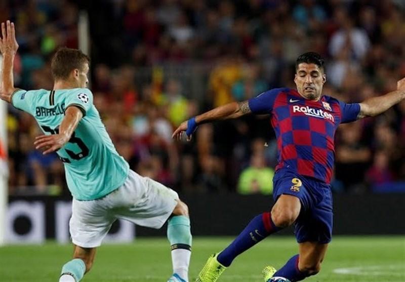 اینتر ۰ - بارسلونا ۰ / گزارش لحظه به لحظه