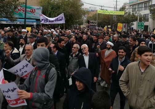 خروش مردم شیعه و سنی گنبدکاووس در دفاع از اقتدار و امنیت کشور + نصاویر