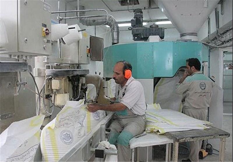 تولید آرد چند شهرستان در رزن