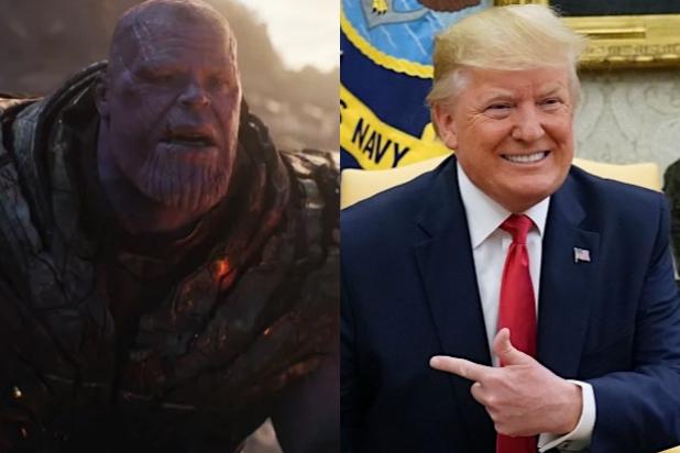 طرفداران ترامپ، او را با قاتل فیلمهای انتقام جویان مقایسه میکنند