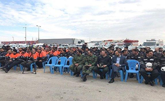 باشگاه خبرنگاران -آغاز رزمایش ترافیکی طرح زمستانی در استان قزوین