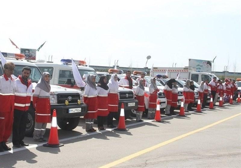 آماده باش بیش از ۶ هزار امدادگر هلال احمر در طرح ترافیکی زمستانه