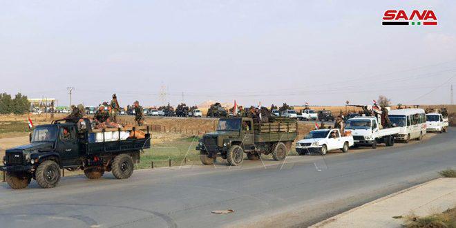 جاده بینالمللی حلب به حسکه بازگشایی شد
