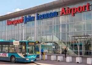 فرودگاه لیورپول بسته شد