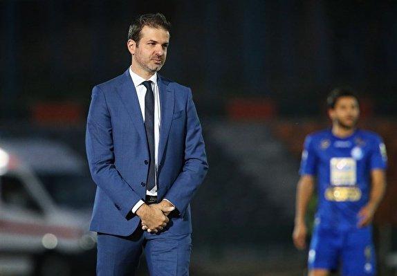 باشگاه خبرنگاران -قرارداد استراماچونی با استقلال ۶ ماهه شد/ آبیها با مرد ایتالیایی تسویه حساب میکنند