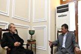 باشگاه خبرنگاران -فتاح با رئیس مجلس دیدار کرد