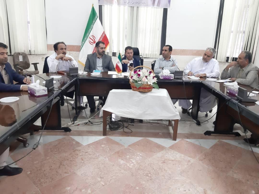 ستاد مدیریت بحران شهرستان سرباز تشکیل جلسه داد