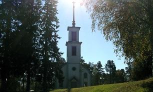 پخش اذان از کلیسایی در سوئد
