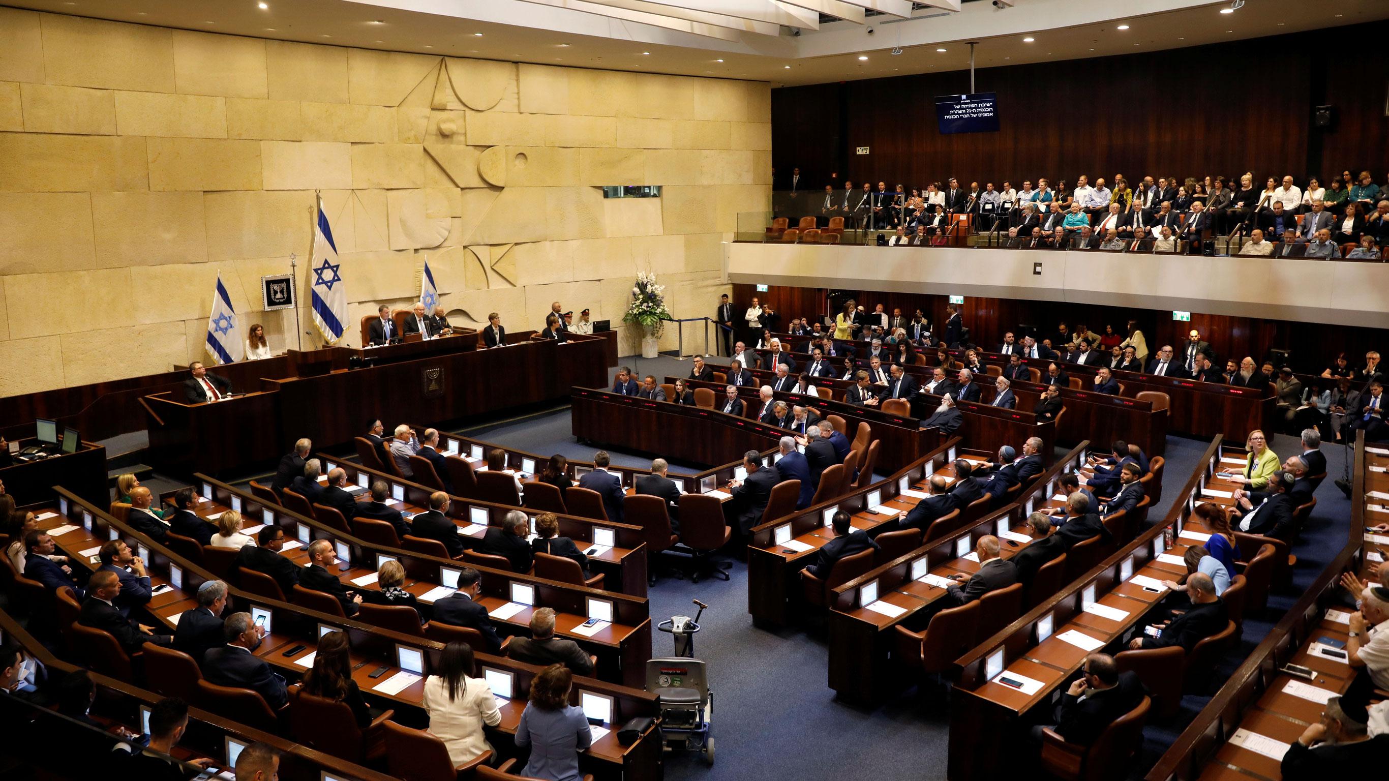 انحلال رسمی کنست/ برگزاری سومین انتخابات پارلمانی در سرزمینهای اشغالی