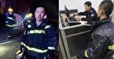باشگاه خبرنگاران -اقدام غیراخلاقی یک شهروند حین آتشسوزی خانه