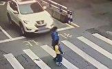 باشگاه خبرنگاران -صحنهای جالب از عصبانیت کودک مقابل رانندهای که مادرش را زیر گرفت