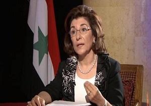 بثینه شعبان: جنگ سوریه از واقعیت مواضع غرب در قبال تروریسم پرده برداشت