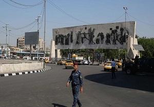 آرامش به خیابان الرشید بغداد بازگشت/ همکاری نیروهای امنیتی و مردم در پاکسازی این منطقه