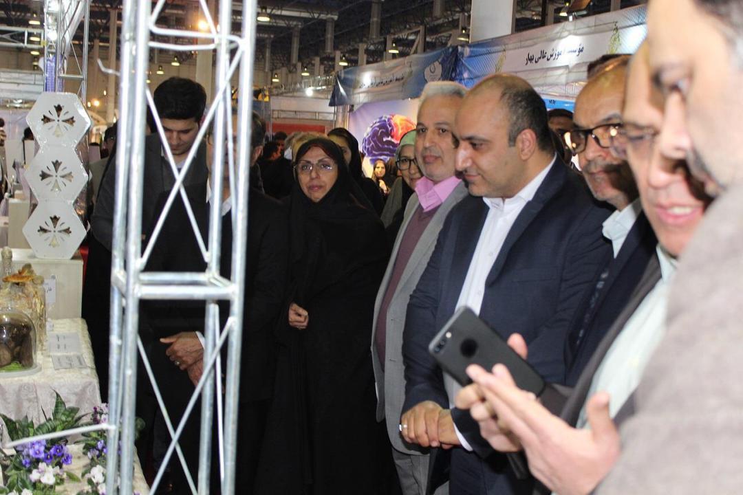 آغاز به کار بیستمین نمایشگاه بین المللی پژوهش و فناوری مشهد