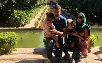 همسر استراماچونی دلتنگ ایران شد