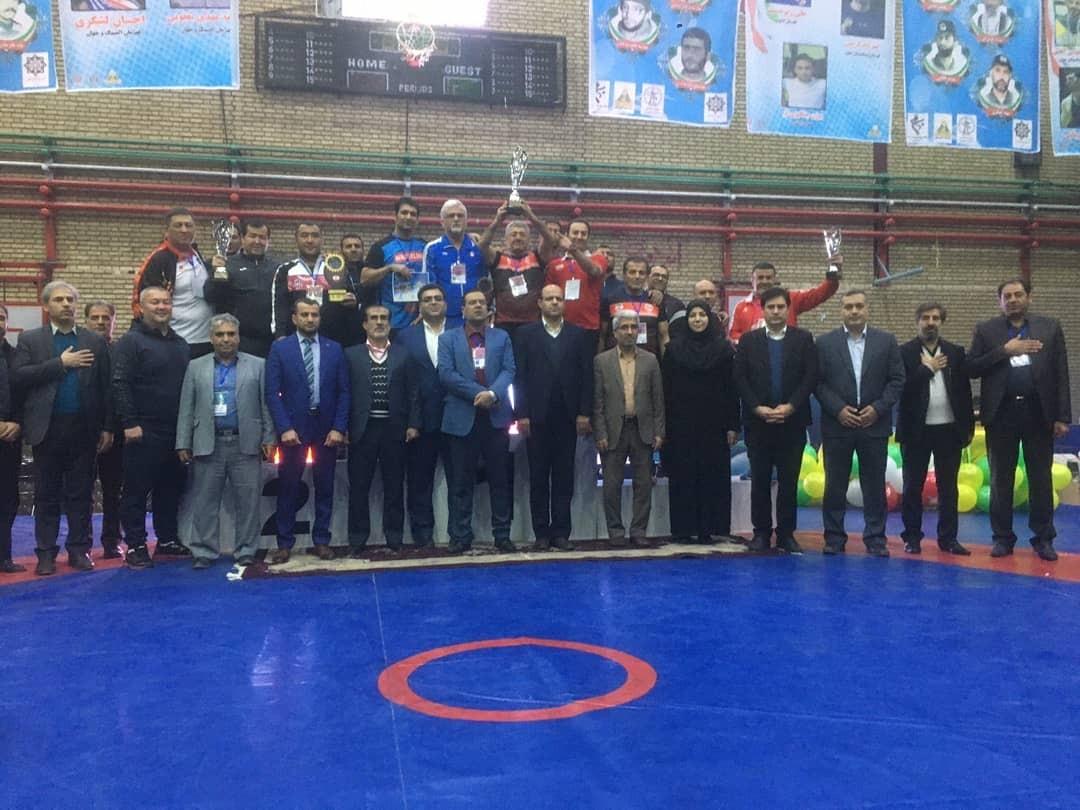 قهرمانی تیم ایران در رقابتهای کشتی بین المللی الوند