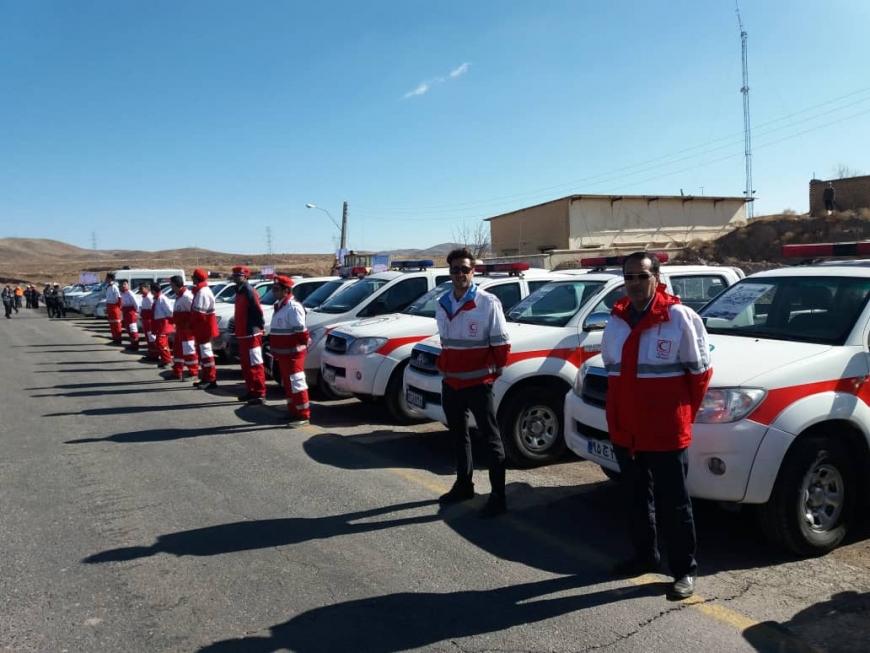 طرح زمستانه امدادی هلال احمر باحضور۵۰۰ نجاتگر