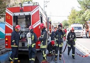 انجام ۵ عملیات با تلاش آتش نشانان همدانی
