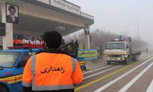 طرح زمستانی راهداری در محورهای مواصلاتی استان همدان کلید خورد