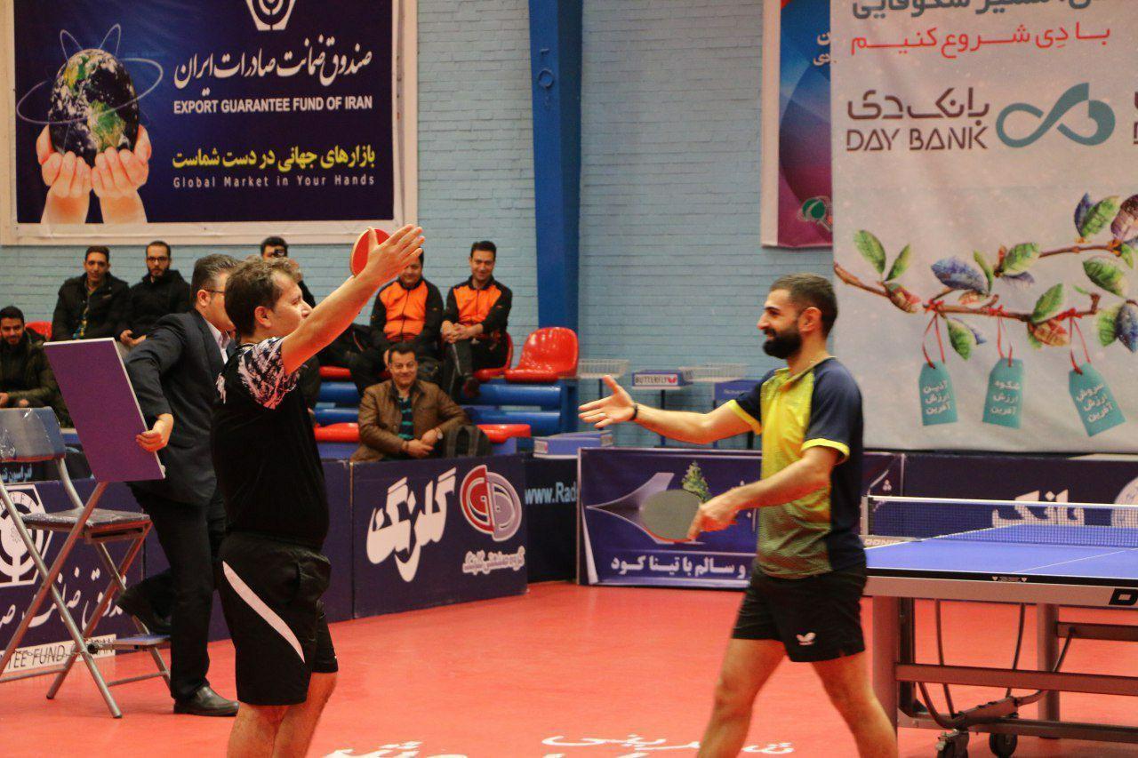 نگاهی به دور دوم رقابت های لیگ برتر تنیس روی میز / پتروشیمی بندر امام قهرمان نیم فصل شد