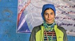 کسب مدال طلای سنگنوردی قهرمانی آسیا توسط محیا دارابیان
