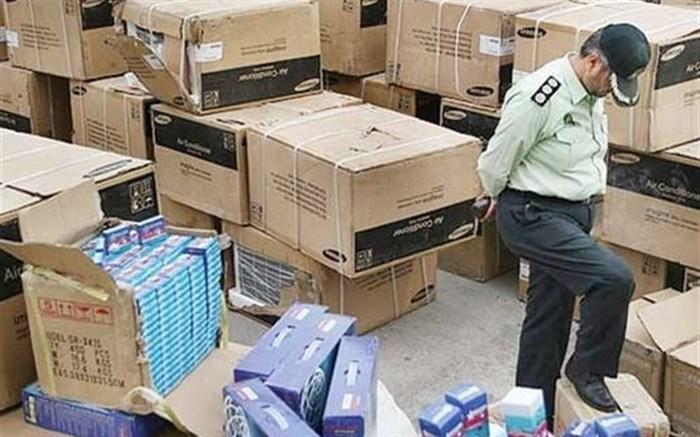 کشف ۵۰۰ میلیونی کالای قاچاق در محله خانی آباد