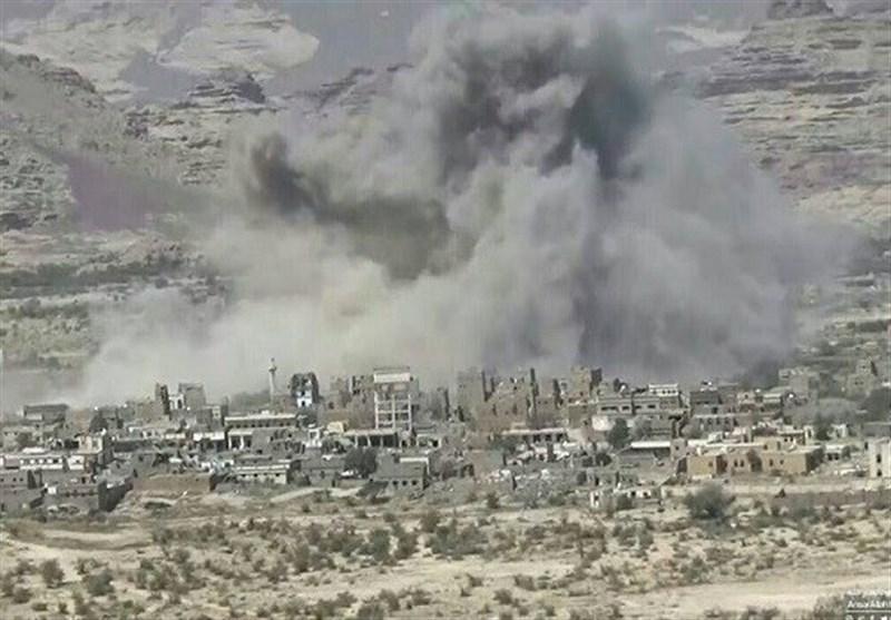 حمله توپخانهای ائتلاف سعودی به صعده یمن/۵ تن کشته و زخمی شدند