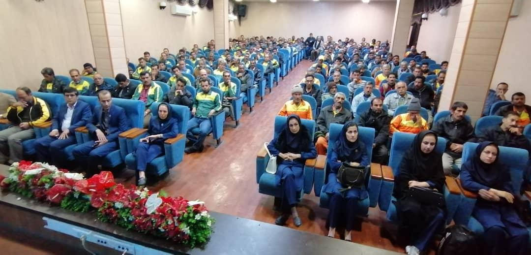 کلاس آموزشی ایمنی و بهداشت در فسا