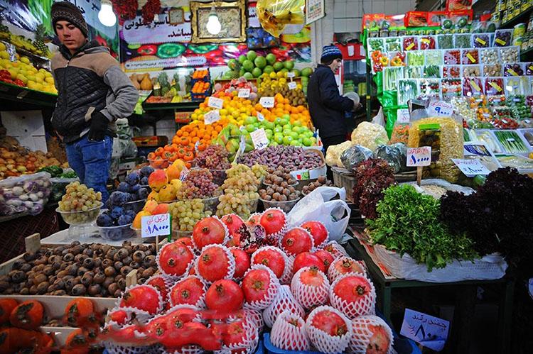ثبات قیمت در بازار شب یلدای ۹۸/ وفور میوه، آجیل و خشکبار
