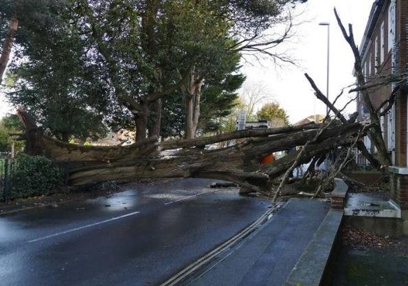 طوفان در فرانسه