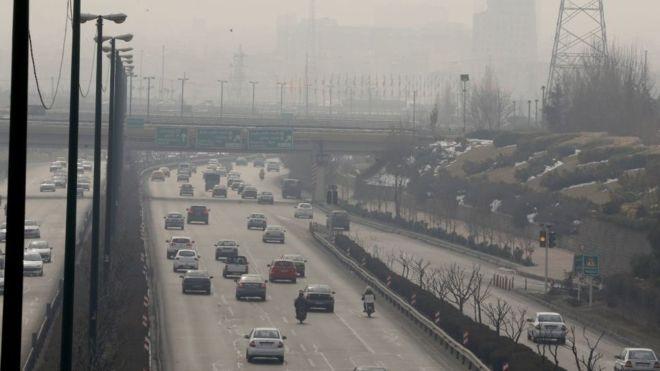 استفاده از ماسک در زمان آلودگی هوا