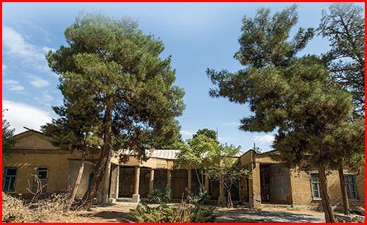 حراج یک باغ تاریخی در مشهد
