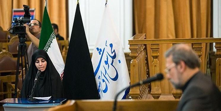لاریجانی درگذشت «زهرا عبدالمحمدی» را تسلیت گفت