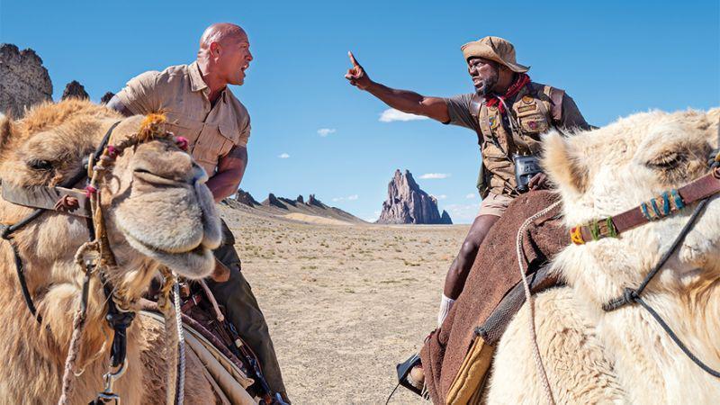 دواین جانسون با «جومانجی» به صدر گیشه بازگشت/ شکست فیلم جدید ایستوود