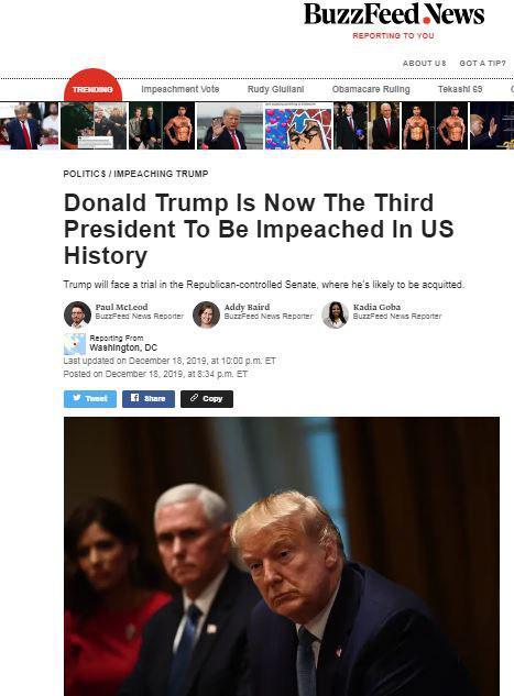 واکنشها به تصویب طرح استیضاح ترامپ/ بایدن: هیچ کس بالاتر از قانون نیست!