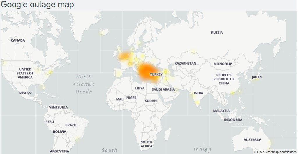 اعلام علت قطعی اینترنت در کشور از سوی شرکت ارتباطات زیرساخت